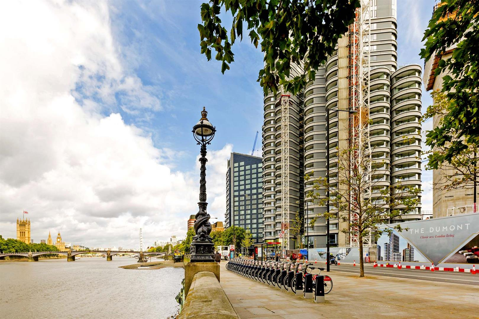 3 Bedrooms Flat for sale in The Corniche, Tower One, 20 Albert Embankment, London SE1